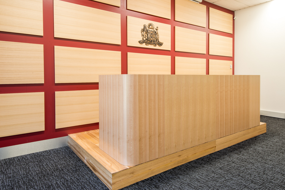 Sydney City School of Law - Moot Courtroom