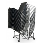 Stacked onto Storage Trolley